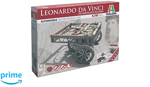Italeri 3101S Leonardo Da Vinci - Automóvil a Escala