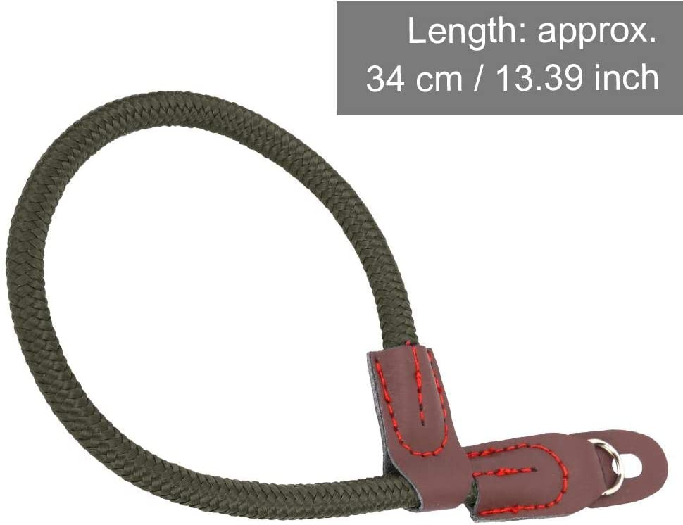 Rope Lanyard for Leic a for Fuji Camera with Round Hole Interface. Blue Vbestlife Camera Lanyard Nylon Hand Wrist Strap