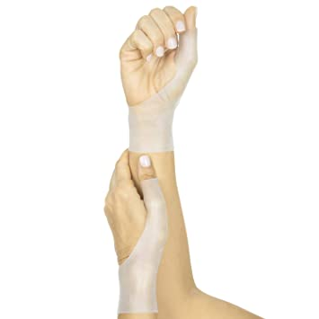 Vive Gel Thumb Wrist Brace (Pair) - Spica Support Cool Wrap for Arthritis Dequervains
