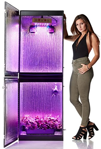 Growzilla 4 Plant Vertical Hydroponics Grow Box