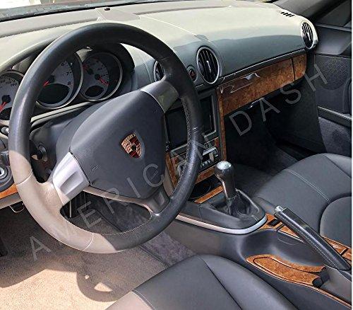Porsche 911 997 Turbo Interior Burl de Madera Ligero Dash Juego de Acabados Set 2010 2011 2012: Amazon.es: Coche y moto