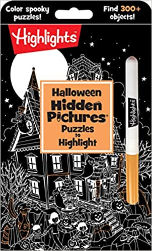 Halloween Hidden Pictures® Puzzles to Highlight Activity Books