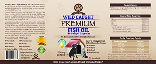 Omega-3-Wild-Caught-Fish-Oil-for-Dogs-EPA-DHA-Higher-in-Omega-3-Fatty-acids-then-Salmon-oil-Pure-No-GMO-All-Natural-Food-Supplement-For-Pet-180-Softgels-1000mg-per-capsule-No-Mess-No-Smell