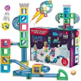 Hippococo Magnetic 3D Building Blocks with Marble Run Game: New Innovative STEM Educational Toy for Boys/Girls, Durable…