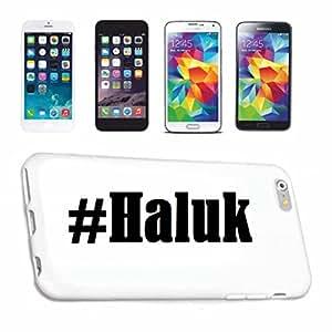 cubierta del teléfono inteligente iPhone 5 / 5S Hashtag ... #Haluk ... en Red Social Diseño caso duro de la cubierta protectora del teléfono Cubre Smart Cover para Apple iPhone … en blanco ... delgado y hermoso, ese es nuestro hardcase. El caso se fija con un clic en su teléfono inteligente