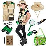 Born Toys Kids Explorer Kit for Boys and Girls with Washable Premium Safari Vest and Adventure kit...