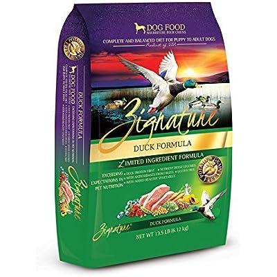 Zignature Duck Formula Dry Dog Food 13.5 lb. Bag, Fast Delivery, by Just Jak's Pet Market