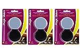 Magic Sliders 2 3/8'' Concave Sliders (4600), 4 ct (3 Pack)