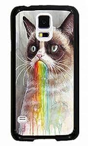 Hard Case for Samsung Galaxy S5 I9600 (Grumpy Cat ) by ruishername