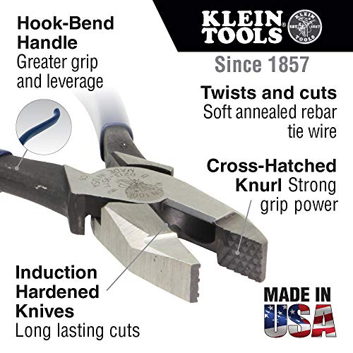 Klein side cutters 9 inch