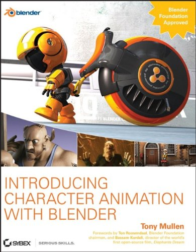 Introduction To Character Modeling In Blender : Tony mullen author profile news books and speaking inquiries