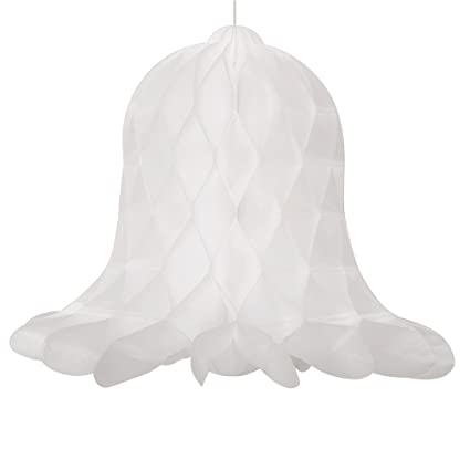 Amazon 40 Honeycomb Hanging White Wedding Bell Decorations Unique Wedding Bell Decorations
