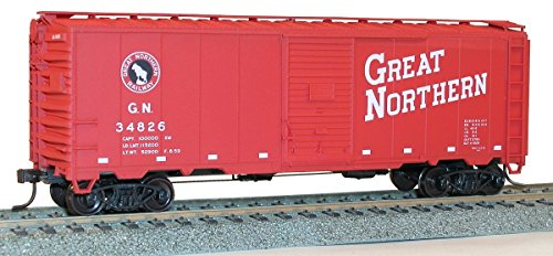 Accurail Model Trains Ho 40' AAR Single Door Boxcars Northern Pacific (Single Door Boxcar Aar)
