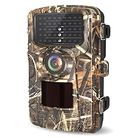 - 51TwFGk27lL - LETSCOM Trail Game Camera 14MP, IP65 Waterproof Wildlife Scouting Hunting Cams, 0.4s Trigger Speed, 42 Low Glow IR LEDs, 120° Wide Angle