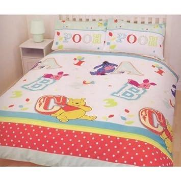 Parure housse de couette Linge de lit Double Winnie l ourson 200 X ...