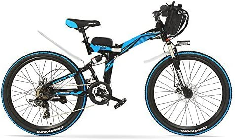 LANKELEISI K660 26 Pulgadas Strong Powerful E Bike, Motor 48V 12AH ...