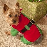 Santa's Helper Elf Dog Costume Medium, My Pet Supplies