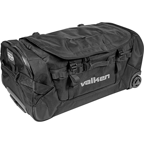 Valken Agility Rolling Gear Bag - Black, Large by Valken