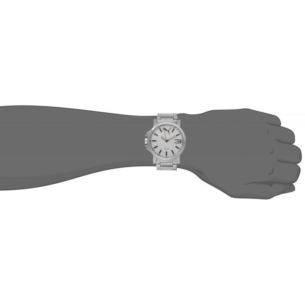 Amazon.com: Puma PU103461002 Motorsport Metal Ultrasize 3HD Watch: Puma: Watches