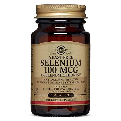 Solgar  Yeast-Free Selenium 100 mcg, 100 Tablets
