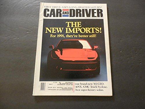 Car And Driver Nov 1990 Gmc Syclone  Best Super Luxury Sedan
