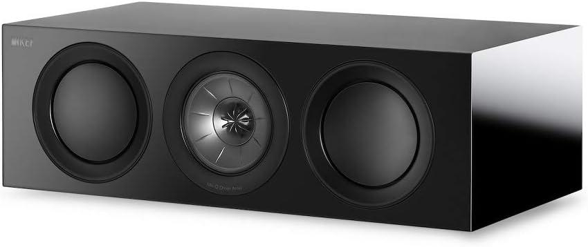 KEF R2c Center Channel Speaker, Black (R2cBL)