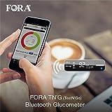 FORA TN'G (Test N' GO) Blood Glucose Meter-Bluetooth (Bluetooth 4.0 & Free App)