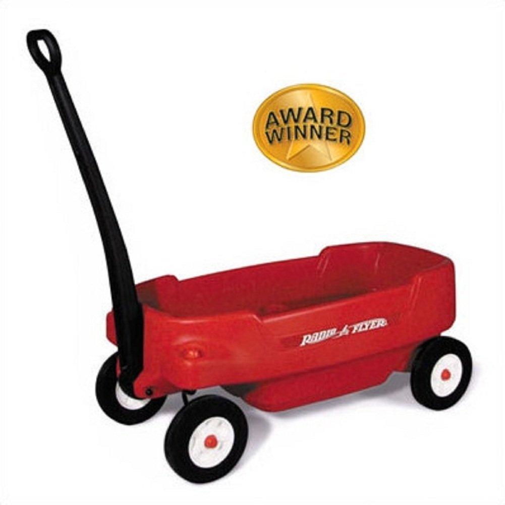 Pathfinder Wagon Ride-on, Red Kids Wagon