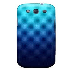 Galaxy Case - Tpu Case Protective For Galaxy S3- Blue Pattern