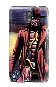 Jocelynn Trent's Shop 6866143K50618796 Tpu Fashionable Design Iron Maiden Rugged Case Cover For Galaxy Note 3 New