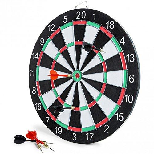 15 Inch Cricket / Bullseye Dart Board for Billiards Game Room or Man Cave (Man Cave Dart Board)