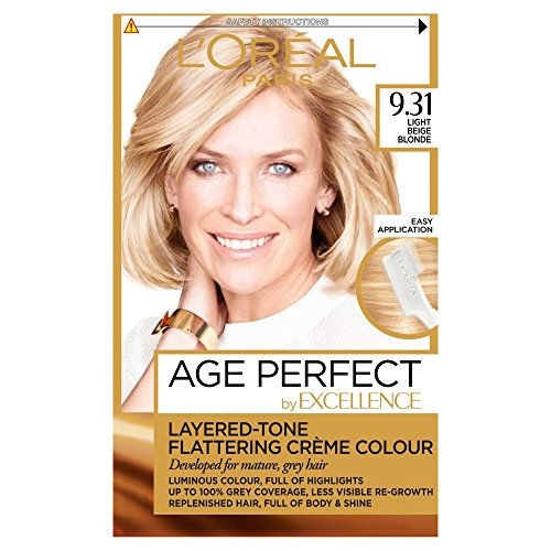 L'Oreal Excellence Age Perfect 9.31 Light Sand Blonde Hair Dye