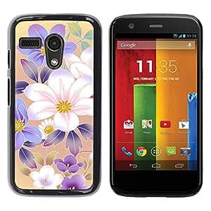 Stuss Case / Funda Carcasa protectora - Rise And Shine Of Magical Flowers - Motorola Moto G 1 1ST Gen