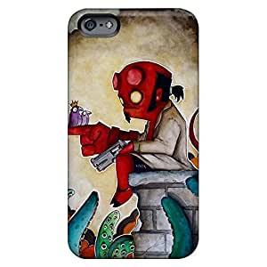 Fashion mobile phone case fashion Look Dirtshock iphone 5s - hellboy