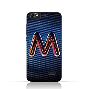 Huawei Honor 4C TPU Silicone Case with Chrome Night Letter M Design