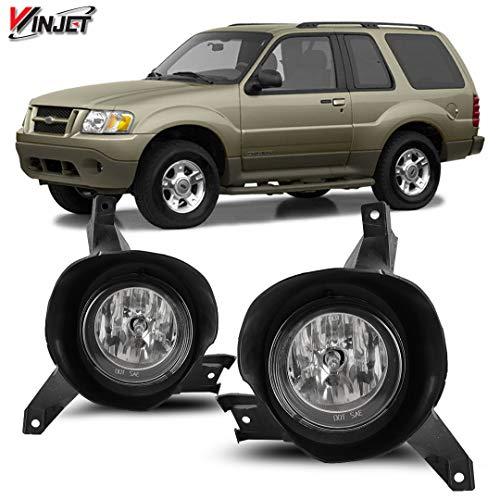 Winjet WJ30-0553-09 OEM Series for [2001-2005 Ford Explorer Sport] Driving Fog Lights