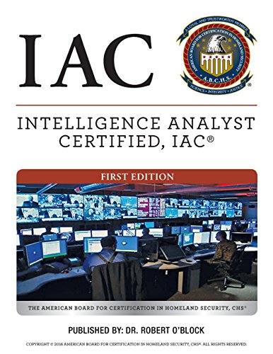 Intelligence Analyst Certified, IAC