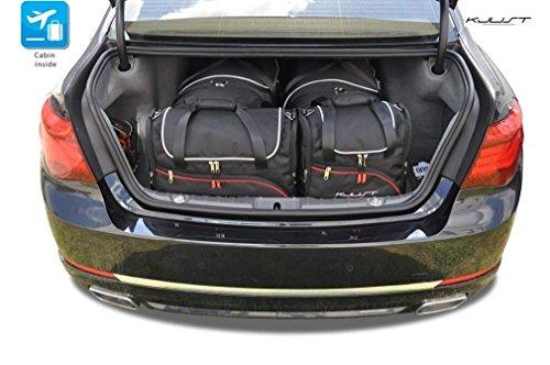 KJUST - CAR-BAGS AUTO TASCHEN MASSTASCHEN ROLLENTASCHEN BMW 7 F01L, 2008-2015