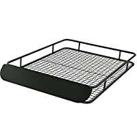 Roof Luggage Cargo Storage Rack with Wind Fairing