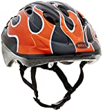 Bell Toddler Bellino Helmet, Burnt Orange Flames