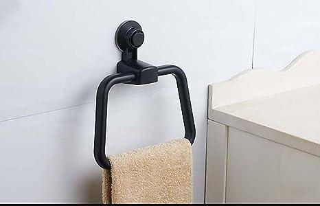 H&Q Toallero de Barra única toallero de plástico para baño ...