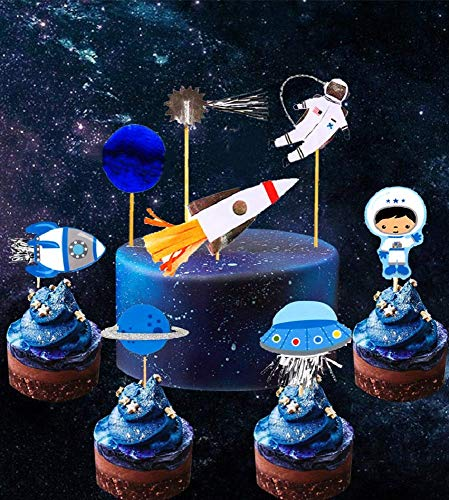 space theme cake decorations - 5