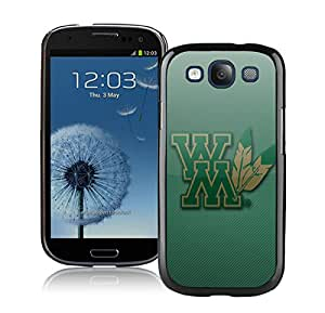 NCAA William Mary Tribe 2 Black Customize Samsung Galaxy S3 I9300 Phone Cover Case