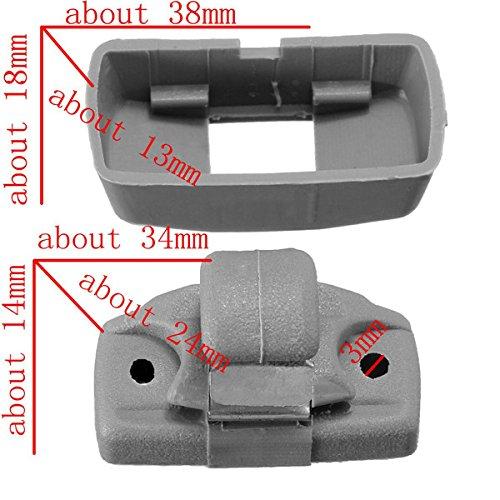 Mount & Holders - Sun Visor Holder Fix Bracket Clip For Vw Golf Mk4 Mk3 Caddy Lupo Polo - 1PCs Console Sun Center