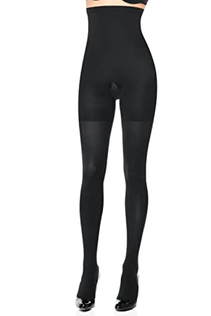 66058234a Spanx High-Waisted Body-Shaping Tight-End Tights at Amazon Women s ...