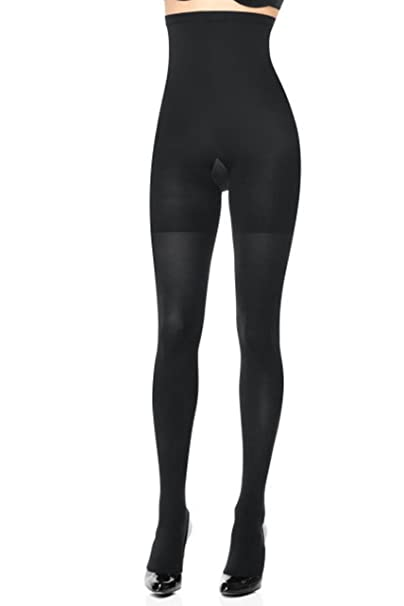 e71a69fcfa293c Spanx High-Waisted Body-Shaping Tight-End Tights at Amazon Women's ...