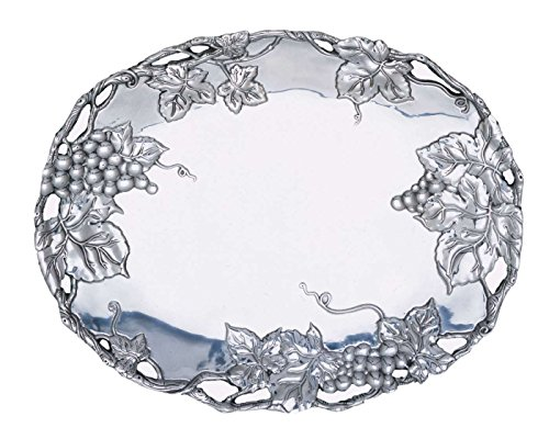 Oval Metal Tray - 6