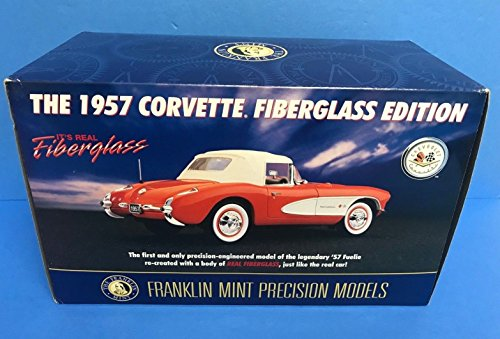 Franklin Mint Limited Edition (1957 Chevy Corvette Fiberglass Edition Franklin Mint 1/24 scale Limited Edition)