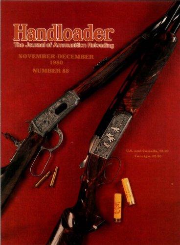 (Handloader Magazine - November 1980 - Issue Number 88)