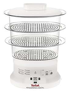 Tefal mini compact digital cocedor al vapor hogar - Cocedor al vapor jata ...
